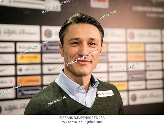Niko Kovac is presented as the new head coach of German Bundesliga soccer club Eintracht Frankfurt in Frankfurt am Main, Germany, 08 March 2016