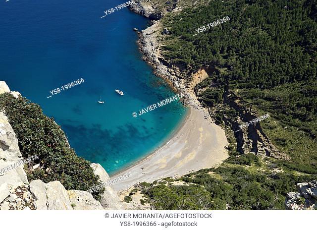 Cala del Coll Baix, Mediterranean Sea, Mallorca, Balearic Islands, Spain