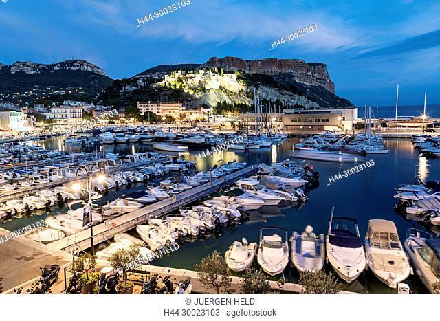 Cassis harbour Côte d Azur France