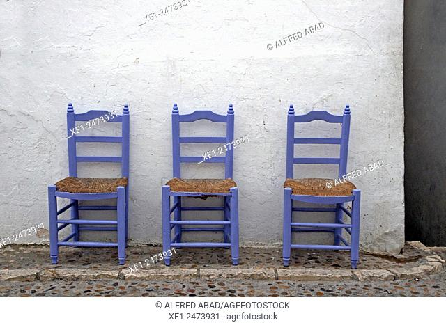 three chairs, Altea, Alicante, Spain