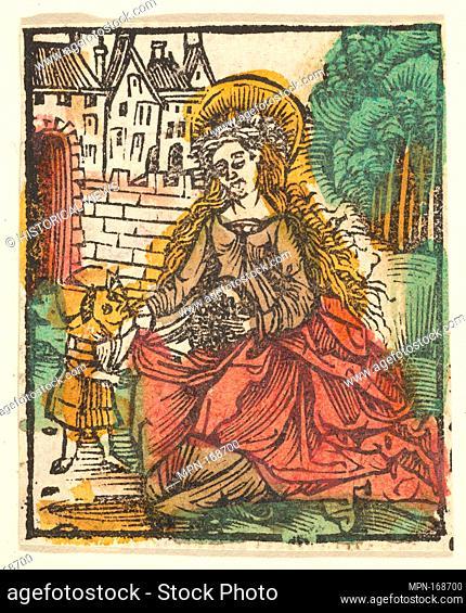 St. Elizabeth (copy ?). Artist: After Hans Baldung (called Hans Baldung Grien) (German, Schwäbisch Gmünd (?) 1484/85-1545 Strasbourg (Strassburg)); Date: after...