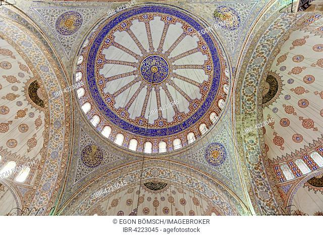 Dome, Fatih Mosque, Fatih Camii, Fatih district, Istanbul, European side, Turkey