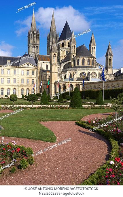 Caen, Abbaye aux Hommes, Men's Abbey, Saint Etienne, Normandy, Calvados, Basse Normandie, France