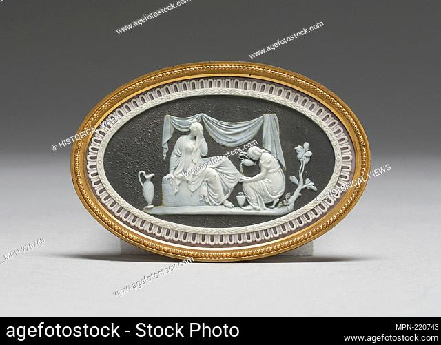 Friendship Consoling Affliction - 1785/90 - Wedgwood Manufactory England, founded 1759 Etruria, Staffordshire, England - Artist: Wedgwood Manufactory