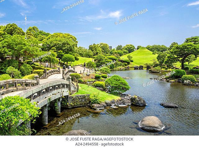 Japan, Kyushu Island, Kumamoto City, Suizenji Garden