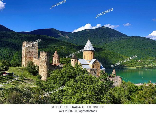 Georgia ,Mtiuleti Region , Ananuri Medieval Complex