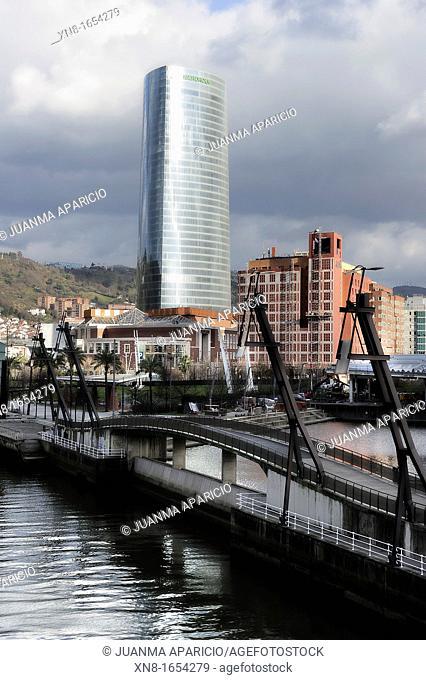 Iberdrola tower, Bilbao, Basque Country, Spain
