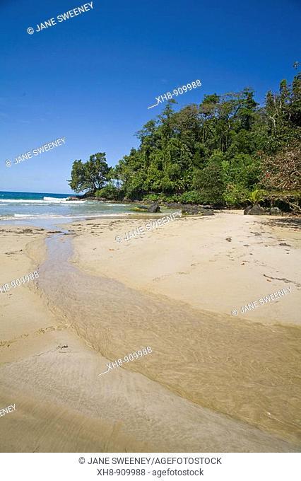 Red Frog Beach, Bastimentos Island, Bocas del Toro Province, Panama