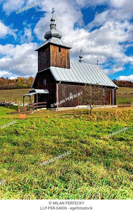 Hutka, wooden church, Slovakia