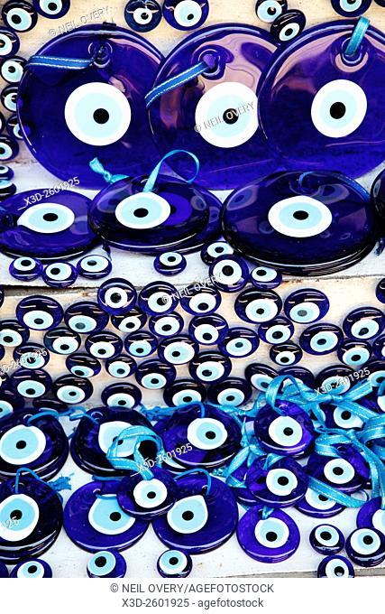 Evil Eye Talismans, Istanbul, Turkey