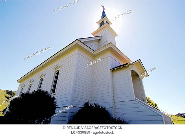 Old St. Mary's Church. Nicasio, California. USA