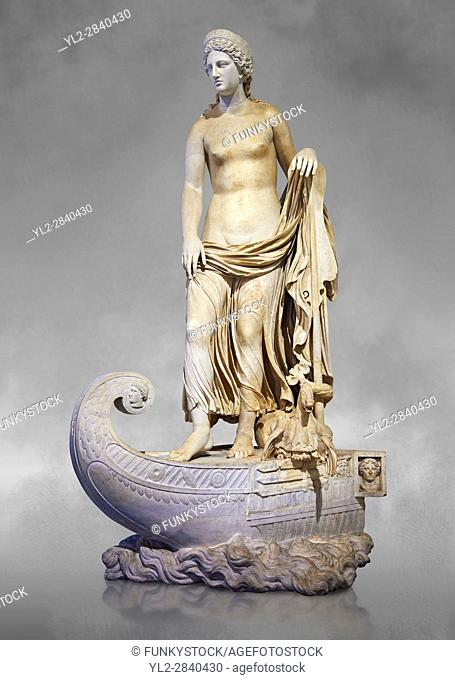 Statue of Thetsis - a 2nd century AD Roman statue found in the city of Lavinia, Italy. Thetis (/Ë. θɛtɪs/; Ancient Greek: Î