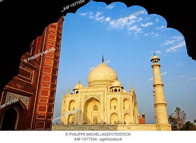 India, Uttar Pradesh state, Agra, Taj Mahal, Unesco world heritage