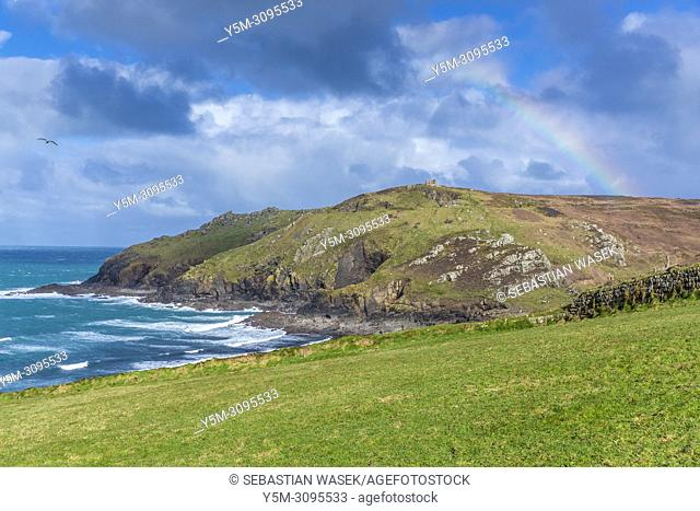 Cape Cornwall, St. Just, Cornwall, England, United Kingdom, Europe
