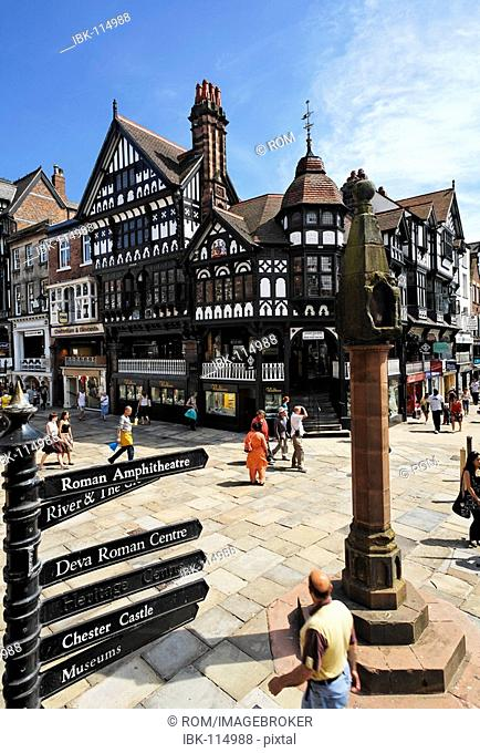 High Cross, Chester, Wales, Great Britain