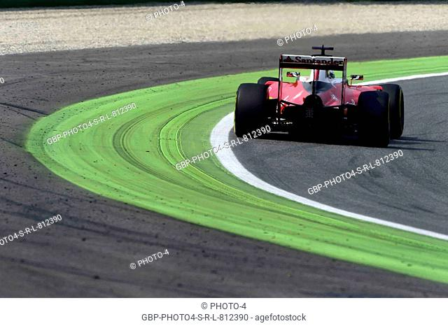 02.09.2016 - Free Practice 2, Sebastian Vettel (GER) Scuderia Ferrari SF16-H