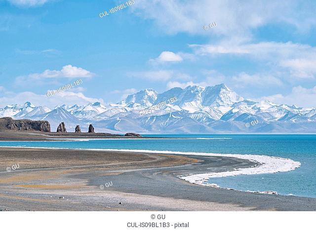 Lake Nam (Namtso), Namco, Xizang, China