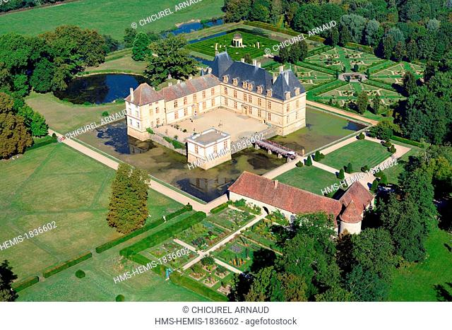 France, Saone et Loire, Cormatin, the castle
