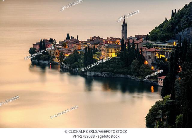 Varenna, Fiumelatte,lake of Como, Lombardia, Italy, Europe