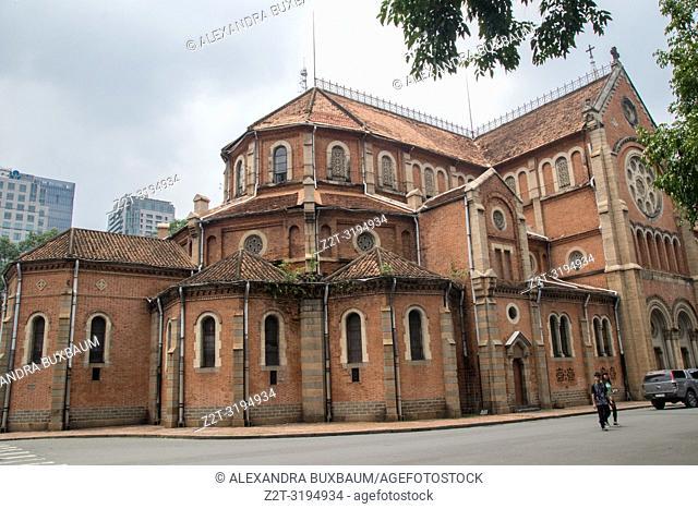 Notre Dame Cathedral, Saigon, South Vietnam