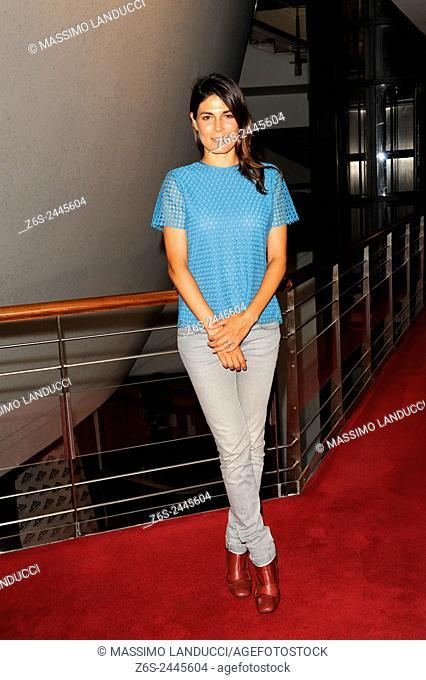 Valeria Solarino; solarino; actress; celebrities; 2015; rome; italy; event; presentation theater season ; teatro Ambra Jovinelli