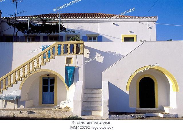 Eptanese, Kythira Mylopotamos, house