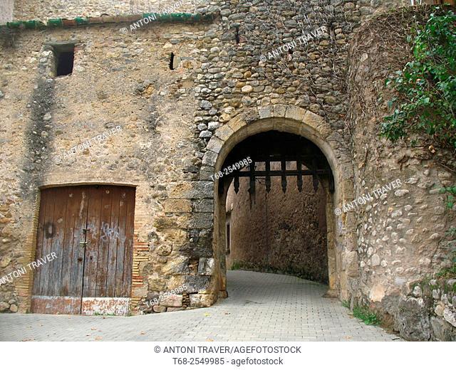 Sant Llorenç de la Muga, Alt Empordà, Girona province, Catalonia, Spain