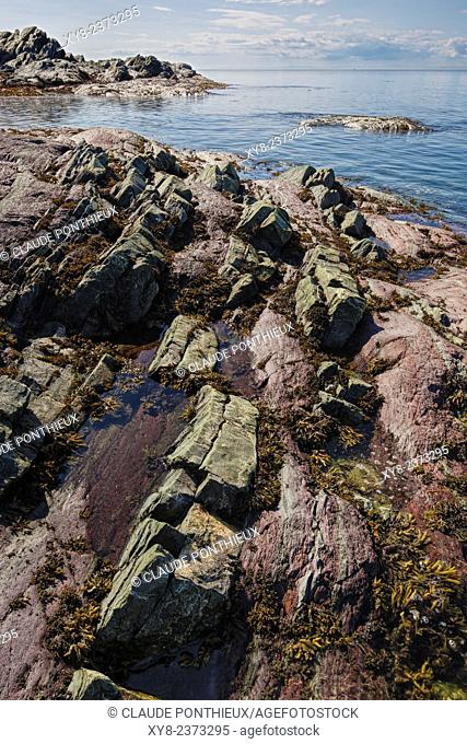Rocklayers, Bic National Park, Quebec, Canada