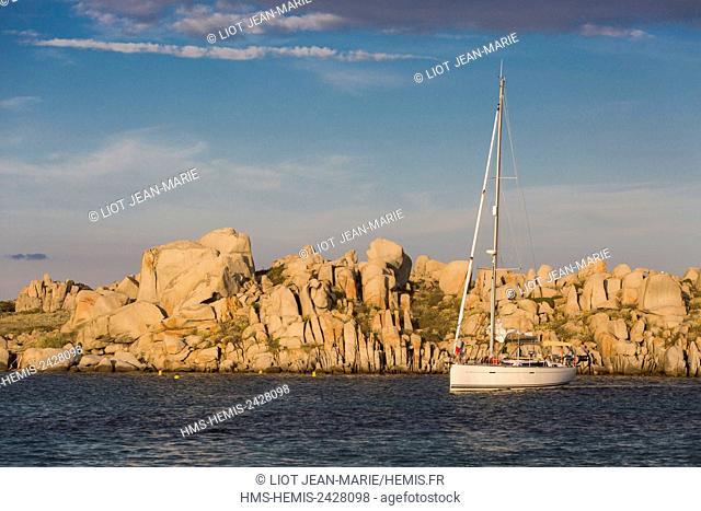 France, Corse du Sud, Bonifacio, Lavezzi Islands Nature Reserve