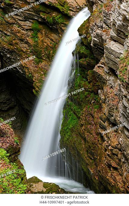 Thur waterfalls, canton of St. Gallen, Switzerland