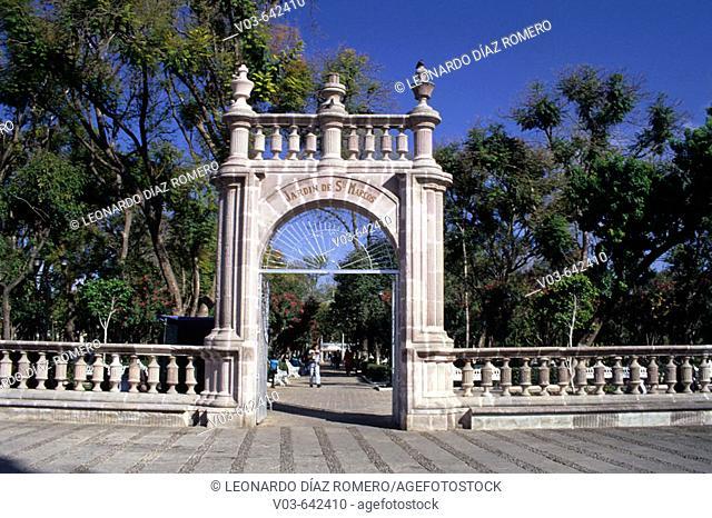 San Marcos garden, Aguascalientes, Mexico