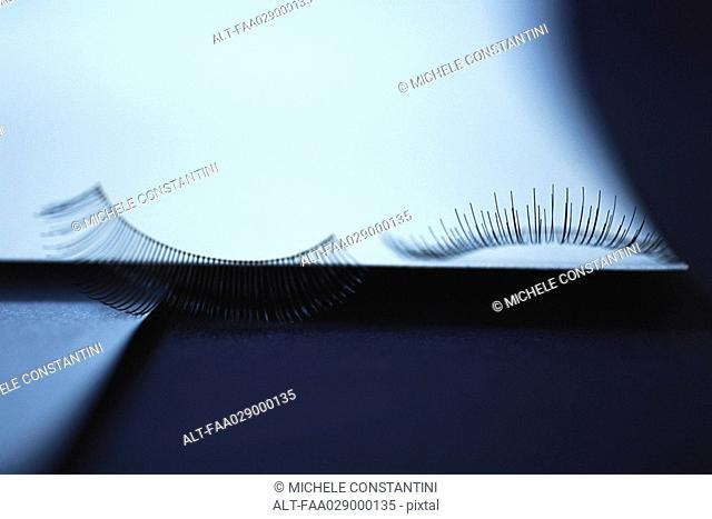 Fake eyelashes, close-up