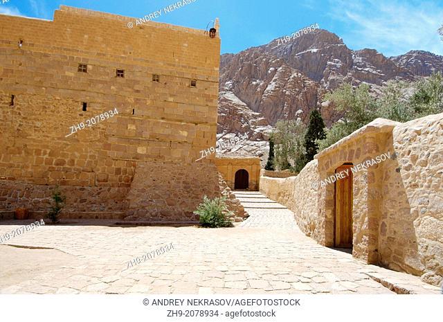 Saint Catherine's Monastery (Saint Catherine Area), Sinai Peninsula, Egypt