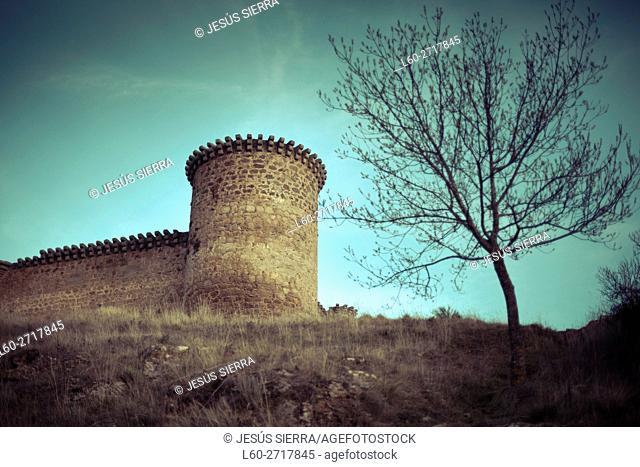 Castillo de Valdecorneja. S. XIV. Barco de Ã. vila. Castille and Leon. Spain