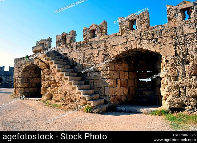 Medieval fortress of Rhodes