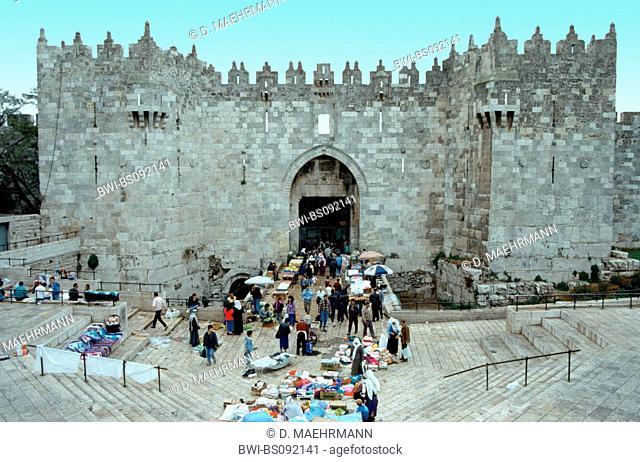 old city, Damascus Gate, Israel, Jerusalem