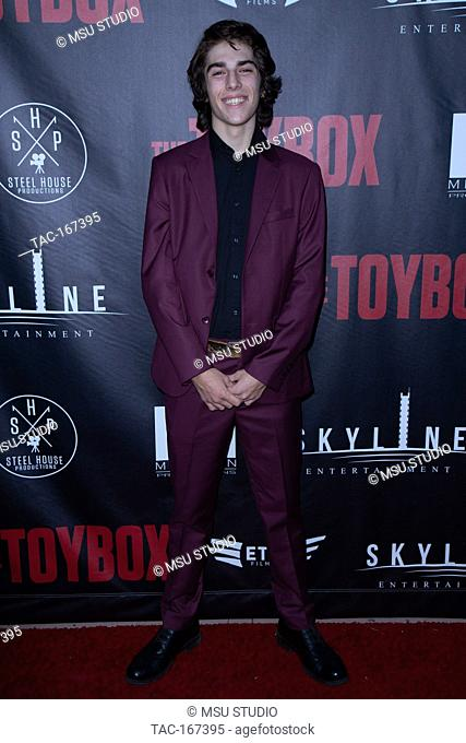 """Drake Jacobson attends the Premiere of """"""""The ToyBox"""""""" at Laemmle NoHo 7 on September 14, 2018 in North Hollywood, California"""