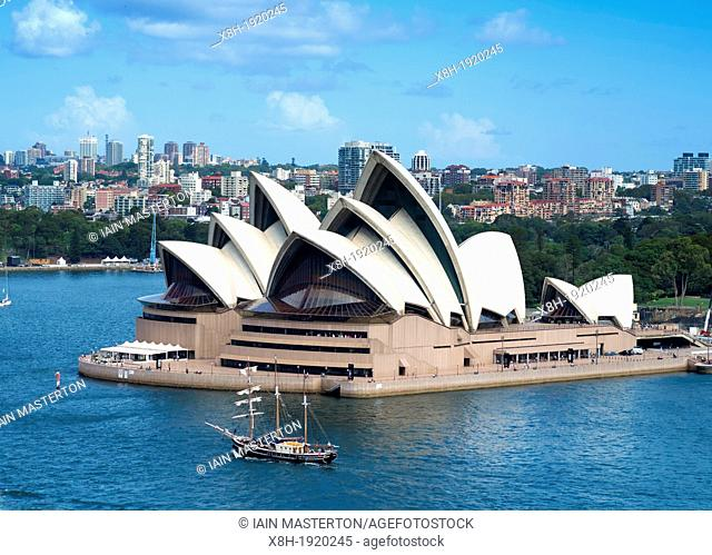 Sydney Opera House in New South Wales Australia