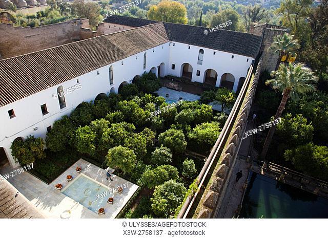 Alcazar de los Reyes Cristianos, Cordoba, Andalucia, Spain, Europe