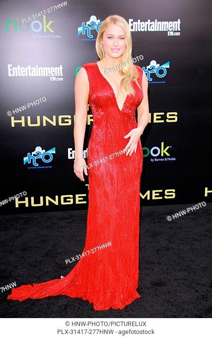Leven Rambin 03/12/2012 The Hunger Games Premiere held at Nokia Theatre L.A. Live in Los ngeles, CA Photo by Izumi Hasegawa / HollywoodNewsWire