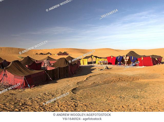 Tented tourist camps Erg Chebbi Morocco
