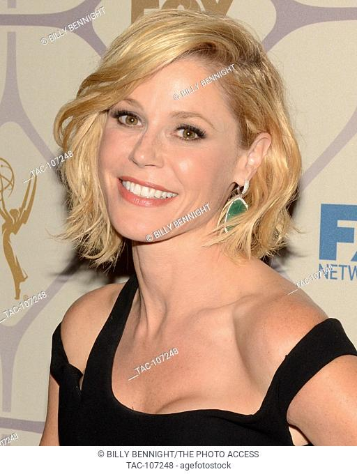 Actress Julie Bowen attends the 67th Primetime Emmy Awards Fox after party on September 20, 2015 in Los Angeles, California