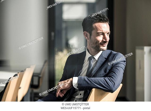 Portrait of a successful businessman