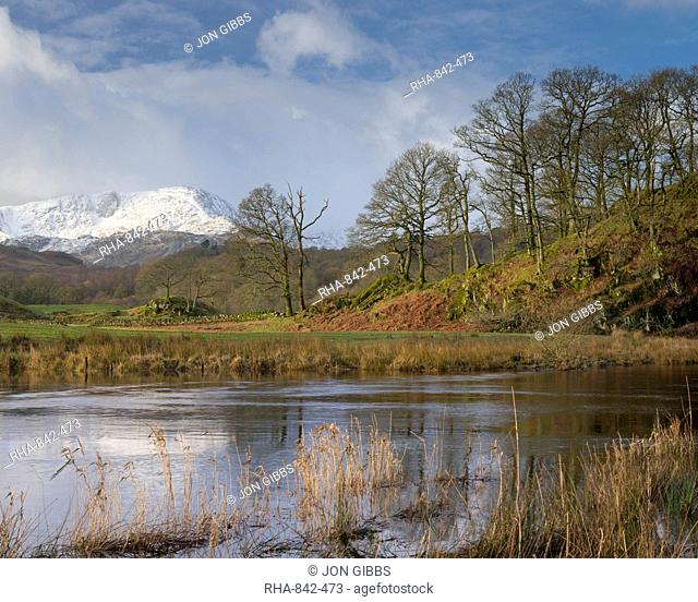 The River Brathay near Elterwater, Lake District, Cumbria, England, United Kingdom, Europe