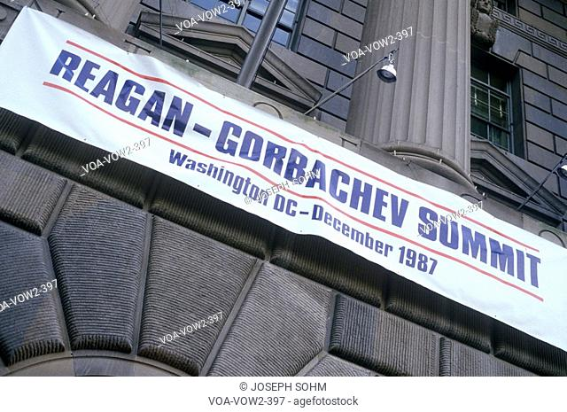 Reagan-Gorbachev Summit in Washington DC