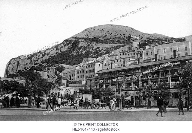 Casemates Square, Gibraltar, early 20th century