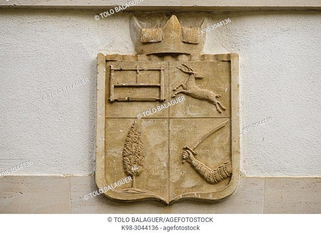 Convent de la Caritat, fachada, Felanitx, Mallorca, balearic islands, Spain