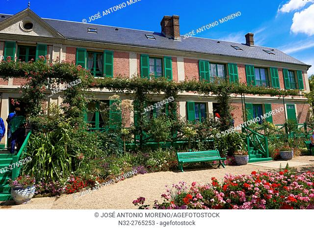 Giverny, Claude Monet house, Monet's garden, Claude Monet Foundation, Normandy, France, Eure, Les Andelys district, Europe