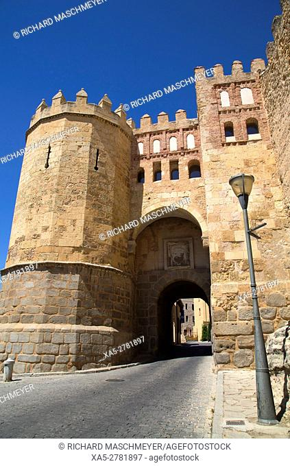 San Andres Gate, Segovia, UNESCO World Heritage Site, Spain