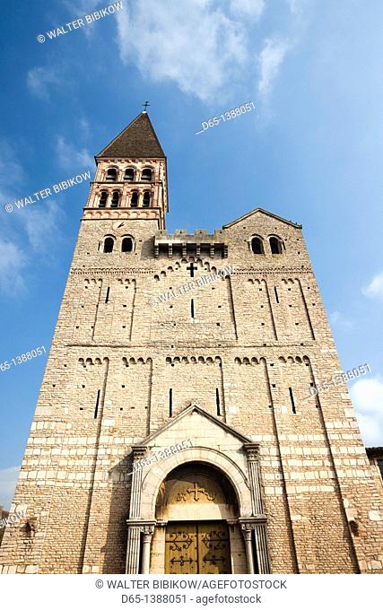 France, Saone-et-Loire Department, Burgundy Region, Maconnais Area, Tournus, St-Philibert Abbey, 10th century